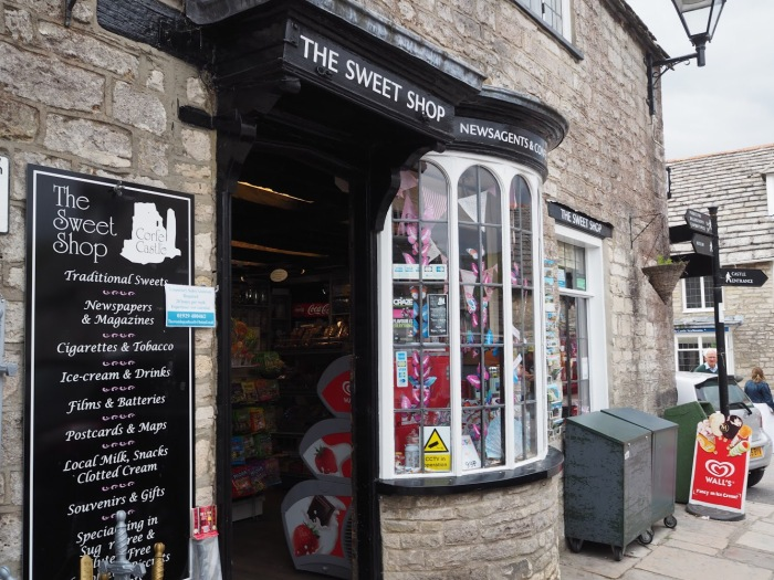 The Sweet Shop in Corfe