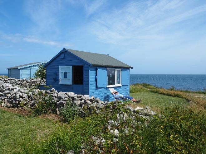 Porland beach huts